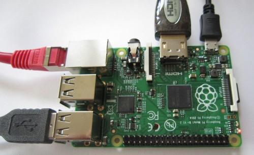 Raspberry Pi,  Modell B+ (Juli 2014)