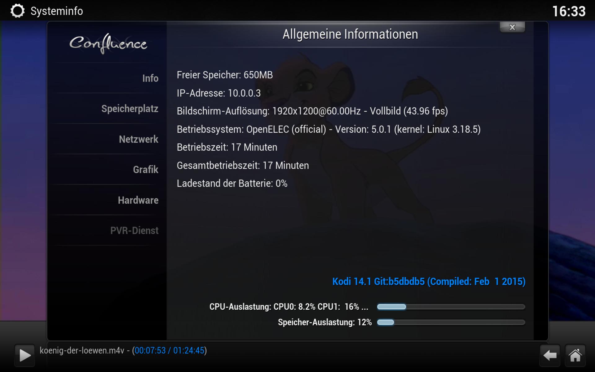 Raspberry Pi 2 Im Test Wiringpi Befehle Openelec 501 Kann Die Vier Cores Des Nicht Auslasten